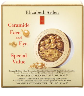 Elizabeth Arden Ceramide krepilna in lifting nega v kapsulah za obraz in oči 2
