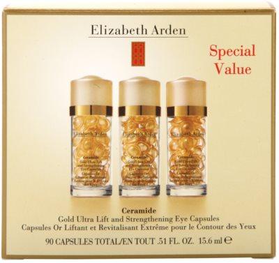 Elizabeth Arden Ceramide stärkende Lifting-Pflege in Kapselform für die Augenpartien 3
