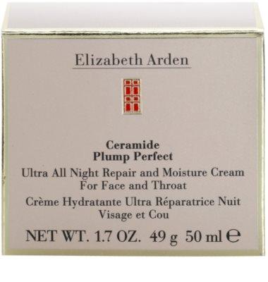 Elizabeth Arden Ceramide megújító éjszakai krém hidratáló hatással 3