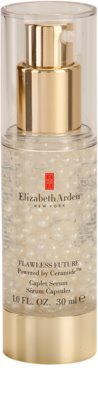 Elizabeth Arden Flawless Future rozświetlające serum do twarzy o dzłałaniu nawilżającym