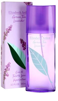 Elizabeth Arden Green Tea Lavender Eau de Toilette para mulheres 1