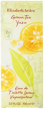 Elizabeth Arden Green Tea Yuzu eau de toilette para mujer 4
