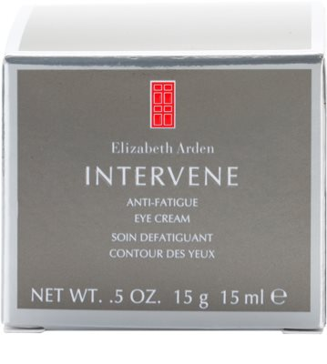 Elizabeth Arden Intervene crema para contorno de ojos antiarrugas 4