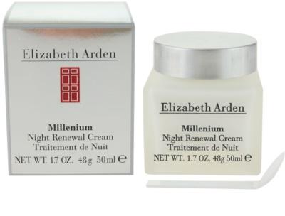 Elizabeth Arden Millenium creme de noite renovador 1