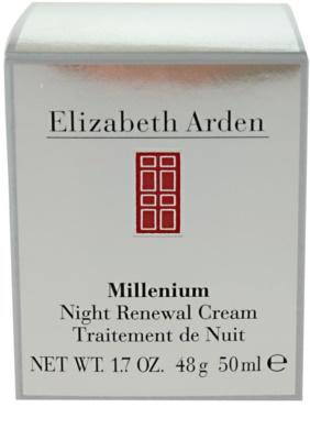Elizabeth Arden Millenium creme de noite renovador 2