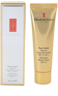 Elizabeth Arden Pure Finish тониращ крем SPF 15 1