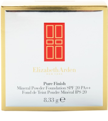 Elizabeth Arden Pure Finish Puder-Make-up SPF 20 4