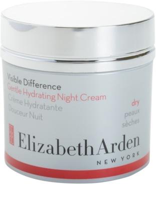 Elizabeth Arden Visible Difference Feuchtigkeitsspendende Nachtcreme für trockene Haut
