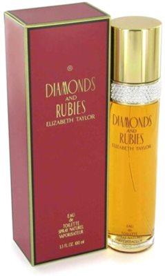 Elizabeth Taylor Diamonds and Rubies Eau de Toilette para mulheres