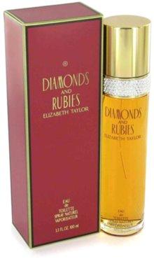 Elizabeth Taylor Diamonds and Rubies Eau de Toilette pentru femei