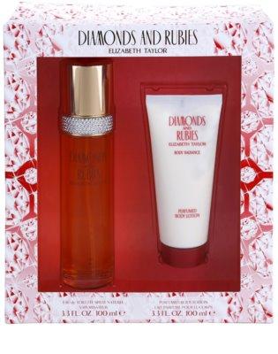 Elizabeth Taylor Diamonds and Rubies Gift Set