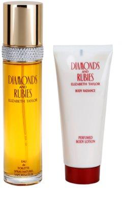 Elizabeth Taylor Diamonds and Rubies coffret presente 2