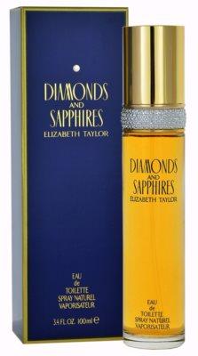 Elizabeth Taylor Diamonds and Saphire Eau de Toilette für Damen