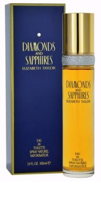 Elizabeth Taylor Diamonds and Saphire Eau de Toilette para mulheres
