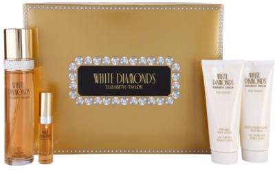 Elizabeth Taylor White Diamonds coffret presente