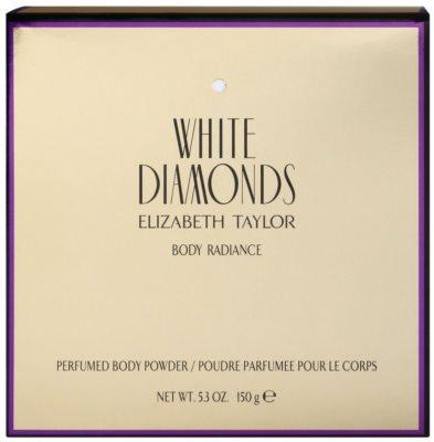 Elizabeth Taylor White Diamonds Körperpuder für Damen 1