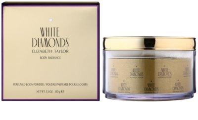 Elizabeth Taylor White Diamonds puder do ciała dla kobiet