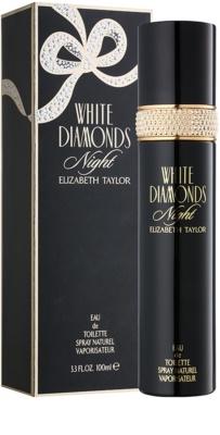 Elizabeth Taylor White Diamonds Night eau de toilette para mujer 1