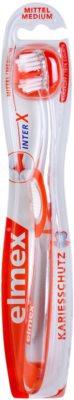 Elmex Caries Protection Periuța de dinți cu un cap scurt mediu