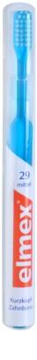 Elmex Caries Protection zubní kartáček s rovnými vlákny a krátkou hlavou medium