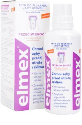 Elmex Erosion Protection Mundwasser schützt den Zahnschmelz 2