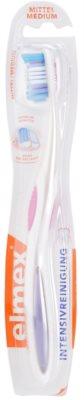 Elmex Intensive Cleaning escova de dentes medium