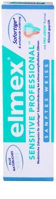 Elmex Sensitive Professional pasta para dientes sensibles con efecto blanqueador 3
