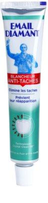 Email Diamant Blancheur Anti-Taches bleichende Zahnpasta gegen Zahnschmelzflecken