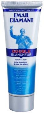 Email Diamant Double Blancheur bělicí zubní pasta pro zářivý úsměv