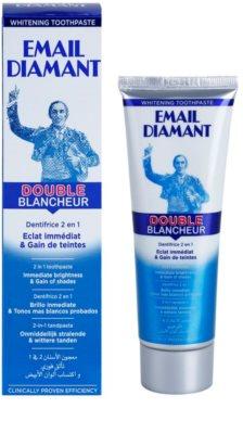 Email Diamant Double Blancheur bělicí zubní pasta pro zářivý úsměv 1