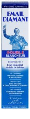 Email Diamant Double Blancheur bělicí zubní pasta pro zářivý úsměv 2