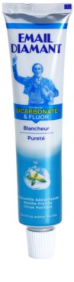 Email Diamant Formule Bicarbonate & Fluor bleichende Zahnpasta für frischen Atem