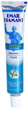 Email Diamant Formule Bicarbonate & Fluor избелваща паста за зъби за свеж дъх