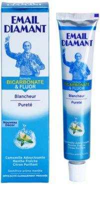 Email Diamant Formule Bicarbonate & Fluor pasta de dientes blanqueadora para aliento fresco 1