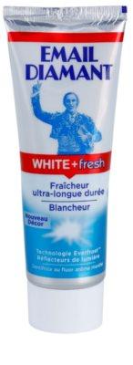Email Diamant White + Fresh pasta de dientes blanqueadora para aliento fresco