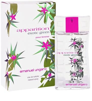Emanuel Ungaro Apparition Exotic Green Eau de Toilette para mulheres