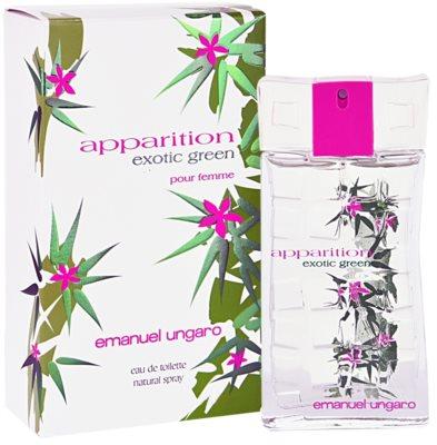 Emanuel Ungaro Apparition Exotic Green туалетна вода для жінок