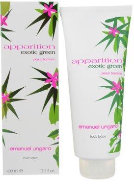 Emanuel Ungaro Apparition Exotic Green leite corporal para mulheres
