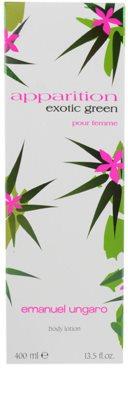 Emanuel Ungaro Apparition Exotic Green Lapte de corp pentru femei 3