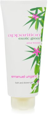 Emanuel Ungaro Apparition Exotic Green Duschgel für Damen 2