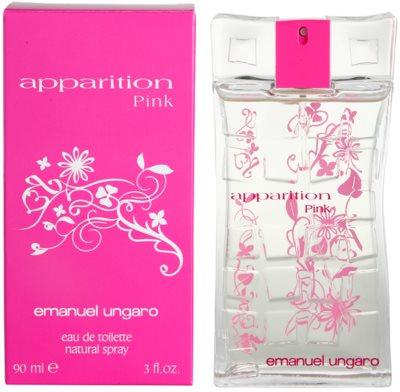 Emanuel Ungaro Apparition Pink Eau de Toilette para mulheres