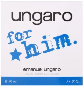 Emanuel Ungaro Ungaro for Him toaletna voda za moške 4