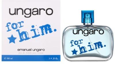 Emanuel Ungaro Ungaro for Him Eau de Toilette pentru barbati