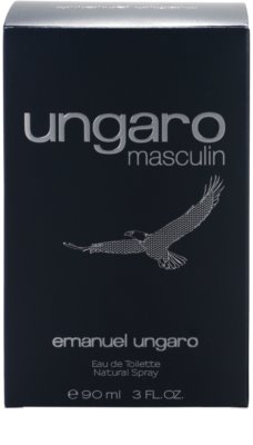 Emanuel Ungaro Ungaro Masculin Eau de Toilette für Herren 4