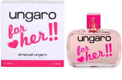 Emanuel Ungaro Ungaro for Her Eau de Toilette pentru femei