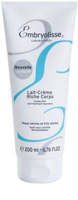 Embryolisse Nourishing Cares leche corporal hidratante y nutritiva  para pieles secas y muy secas