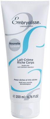 Embryolisse Nourishing Cares odżywcze mleczko nawilżające do ciała do skóry suchej i bardzo suchej