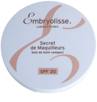 Embryolisse Artist Secret Products kompaktní krémový make-up SPF 20 3