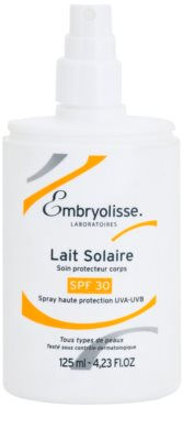 Embryolisse Sun Care Bräunungsmilch als Spray SPF 30 1