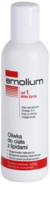 Emolium Body Care telový olej s lipidmi pre suchú a citlivú pokožku